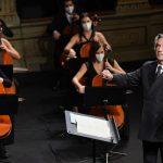 دومین پخش زنده کنسرت ریکاردو موتی در وب سایت RG صورت می گیرد